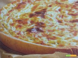 Torta salata con speck e formaggio