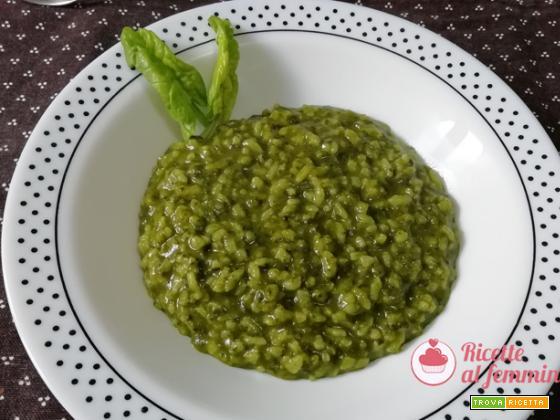 Risotto agli spinaci con il bimby