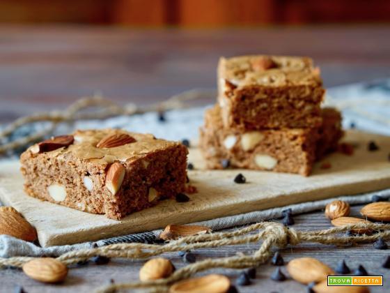 Brownies al Cioccolato al Latte e Mandorle