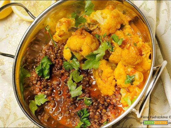 Lehsuni Ghobi- Lasuni Gobi- Cavolfiore con aglio