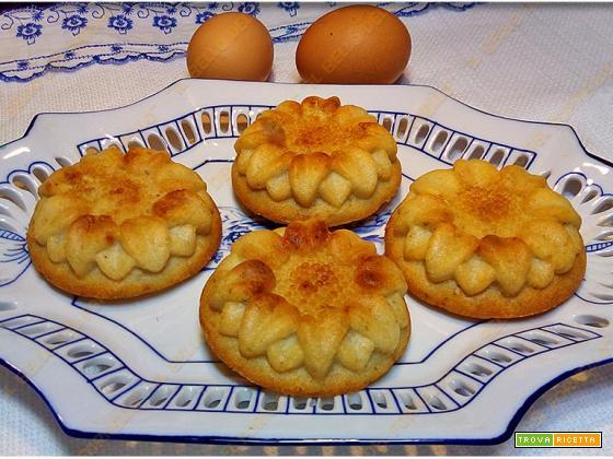 Frittatine al forno con ricotta e pesto
