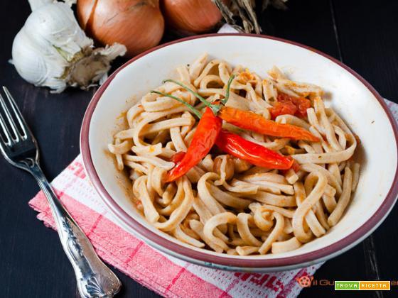 Lagane e ceci – ricetta tradizionale