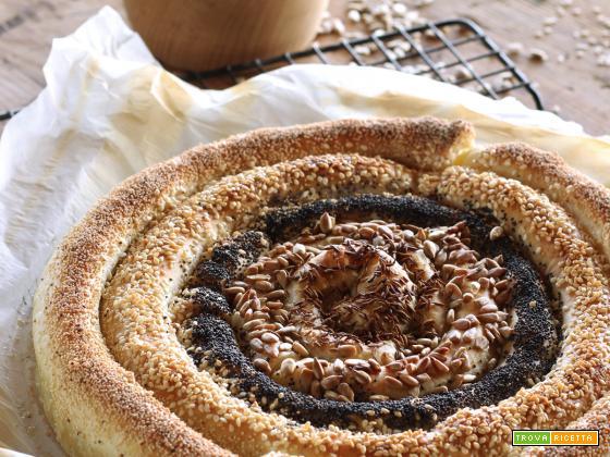 Chiocciola bigusto ripiena (o pane dell'Indeciso)