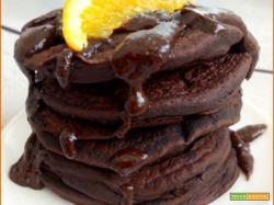 Pancake Arancia e Cacao Vegani e Senza Glutine