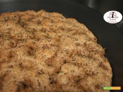 Focaccia integrale con farina SAN E BUN