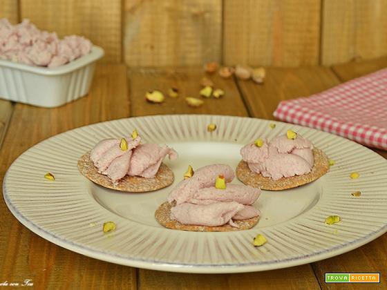 Mousse di mortadella pronta in 5 minuti