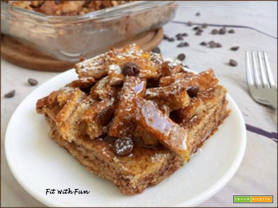 Torta Overnight di French Toast al Forno