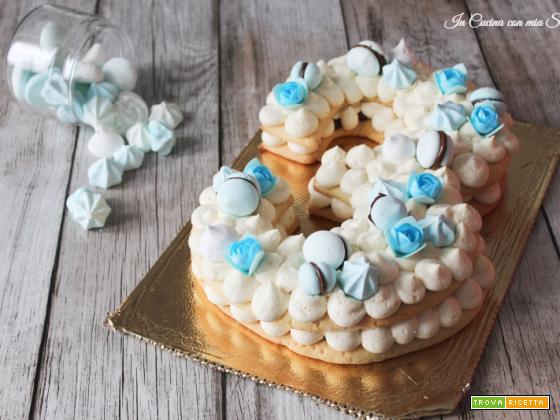 Cream tart alla nutella e meringhe