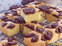 Cubotti di torta ai biscotti Pan di Stelle