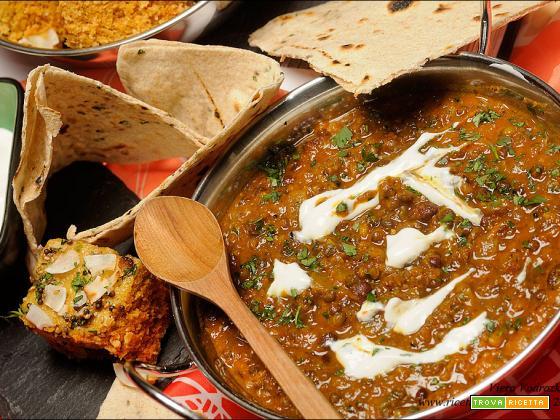 Makhani Dal – Dahl di lenticchie nere e fagioli rossi