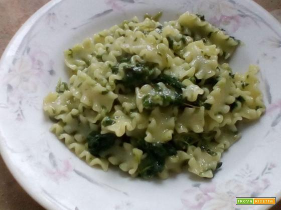 Mafalde con i broccoletti