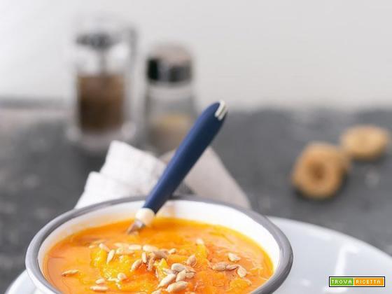 Vellutata di carote al cumino