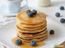 Pancakes allo yogurt golosi