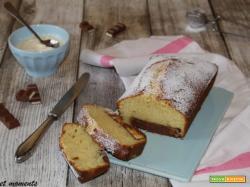 Plumcake kinder alla vaniglia