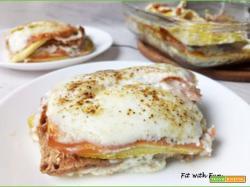 Wasagna con Panna Fit Zucchine e Prosciutto