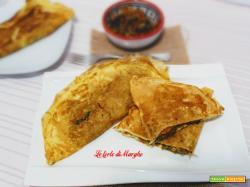 Omelette vegetariana ricetta base