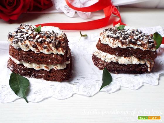 Heart-cake al profumo di caffè