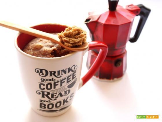 TORTA IN TAZZA AL CAFFE'