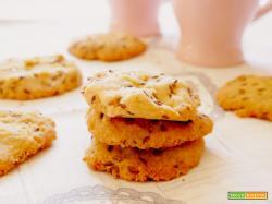 Biscotti glutenfree con farina di miglio, di riso e semi di lino