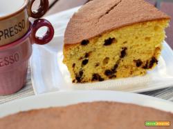 Torta con mascarpone e gocce di caffè - torta tiramisù