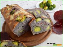 Torta Salata o Pane con Cavoletti di Bruxelles e Bresaola
