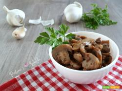 FUNGHI champignon TRIFOLATI