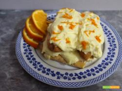 Tiramisu senza glutine con crema all'arancia