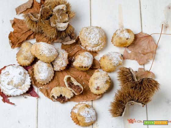 Ravioli dolci con ripieno di castagne – Ricetta senza uova