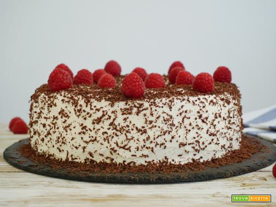 Chiffon Cake con crema al mascarpone