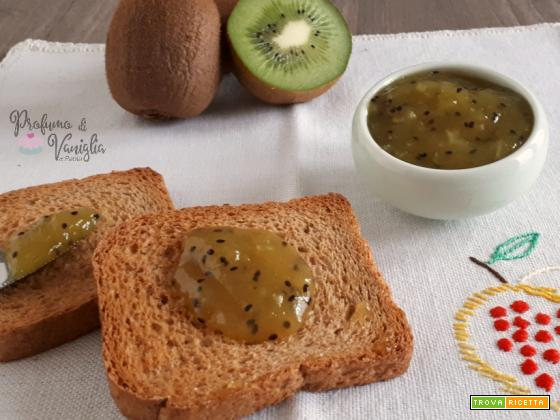 CONFETTURA di KIWI, una marmellata fresca e genuina