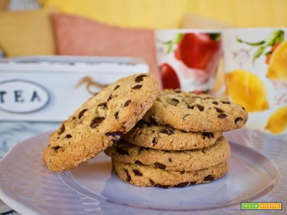 Biscotti di cioccolato con farina di riso