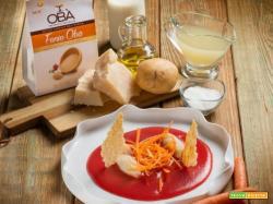 Zuppa di patate e spaghetti di carote: la semplicità a tavola!