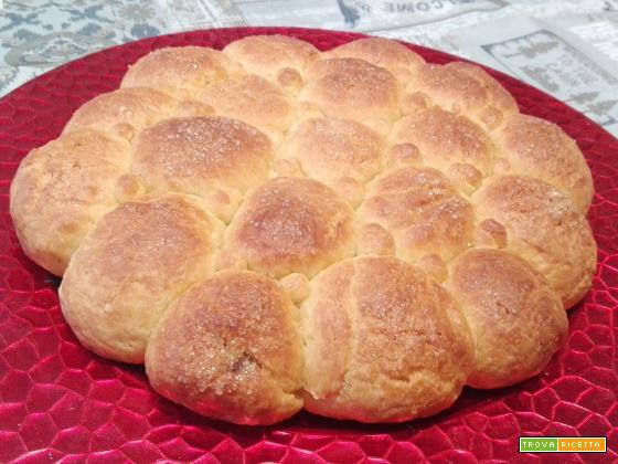Bocconcini di pan brioche ripieni