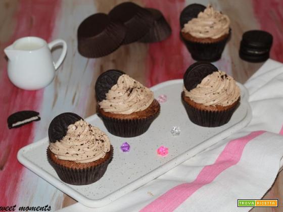 Cupcake oreo e nutella