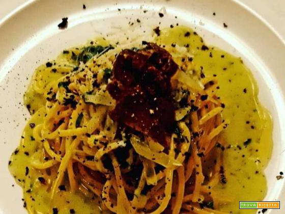Pasta al tartufo nero di Calabria
