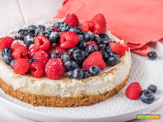 Cheesecake ai frutti rossi con preparato CAMEO