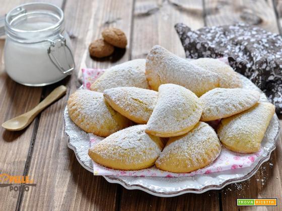 Tortelli dolci con marmellata al forno
