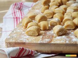 Gnocchi di pasta all'uovo