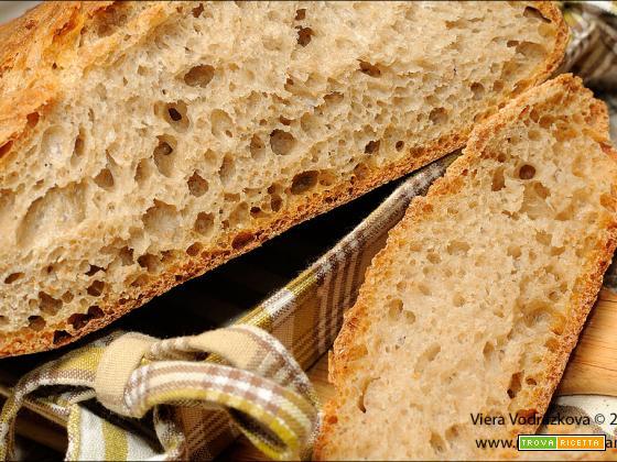 Pane morbidissimo con farine miste biologiche