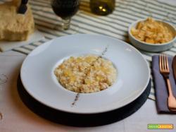 Risotto alle croste di Parmigiano e mostarda