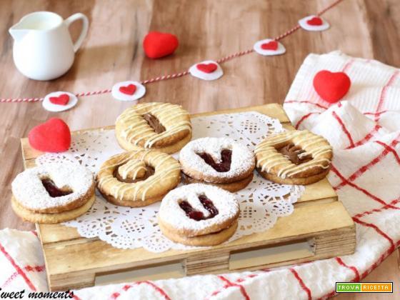 Biscotti San Valentino   Occhi di bue