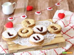Biscotti San Valentino | Occhi di bue