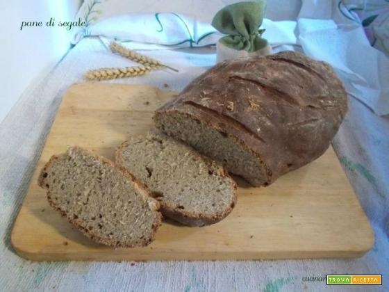 Pane di segale  lievito madre