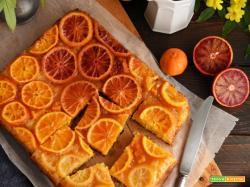 Torta rovesciata agli agrumi senza glutine