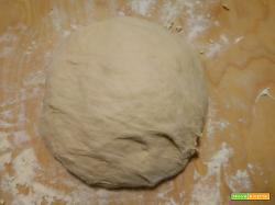 Impasto per la pizza fatto a mano