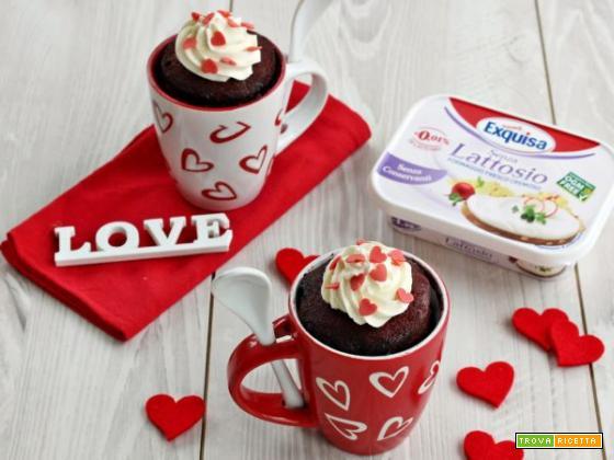 Mug cake alle rape rosse: l'idea monoporzione perfetta per San Valentino