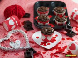 L'extra chocolate muffin di San Valentino