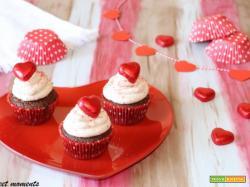 Cupcake dal cuore cremoso | San Valentino