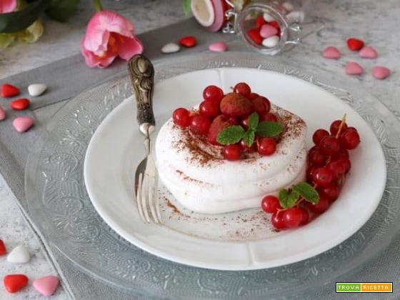 Un buon San Valentino… con le pavlove con crema al cacao!