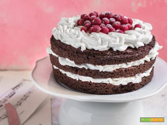 Torta al cioccolato e panna – Ricetta facile